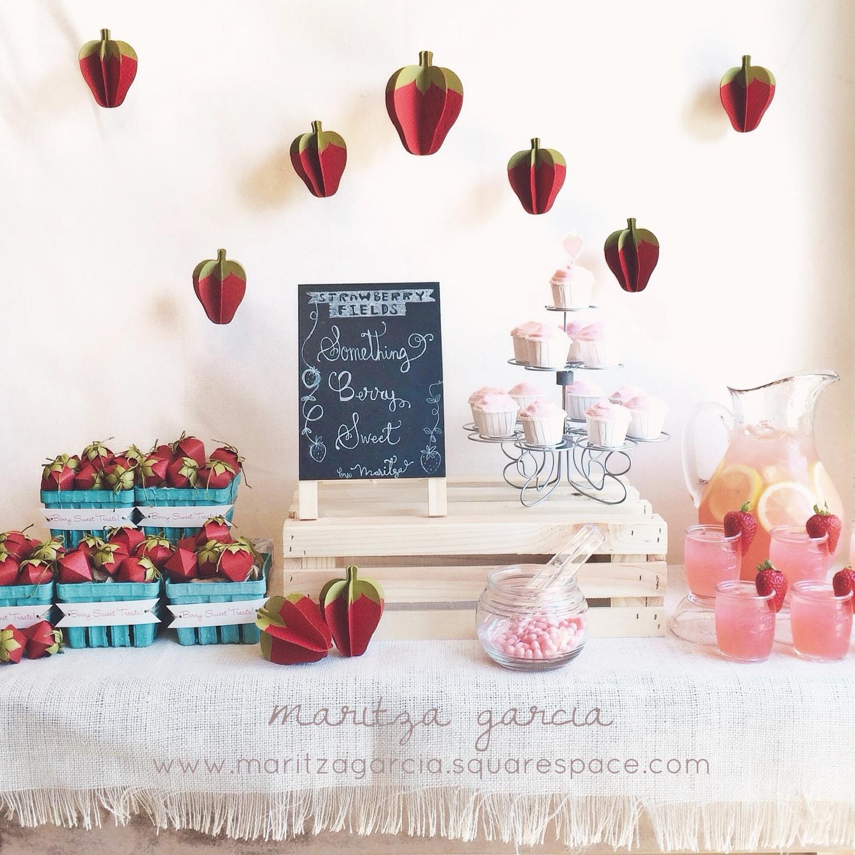 Strawberry Fields | www.maritzagarcia.website