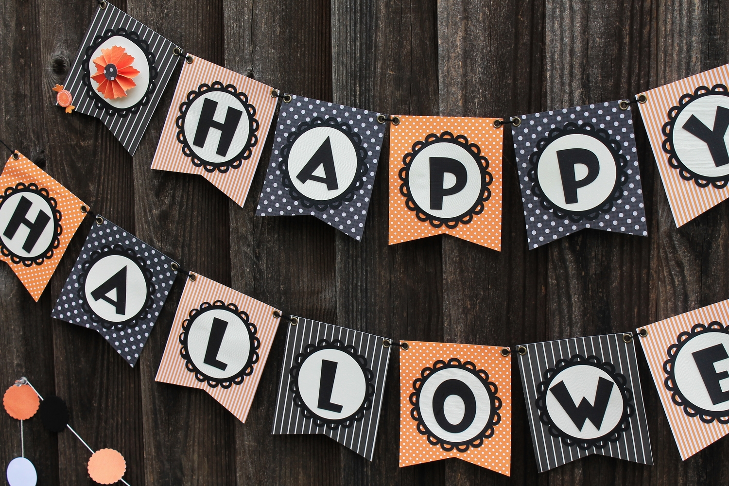 Halloween Banners and Garlands | maritza garcia