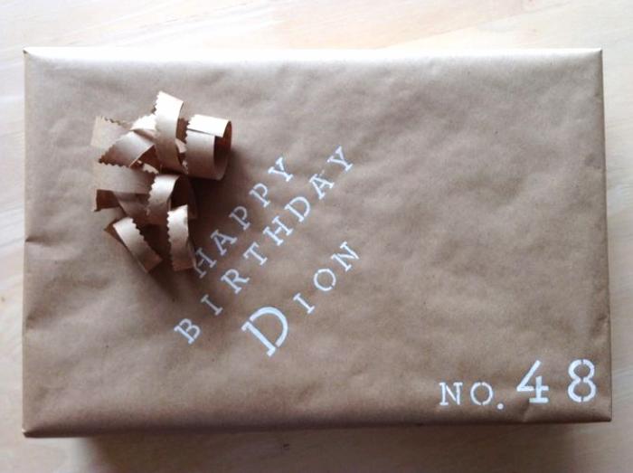 Gentlemen Kraft Paper Simple Packaging | maritza garcia