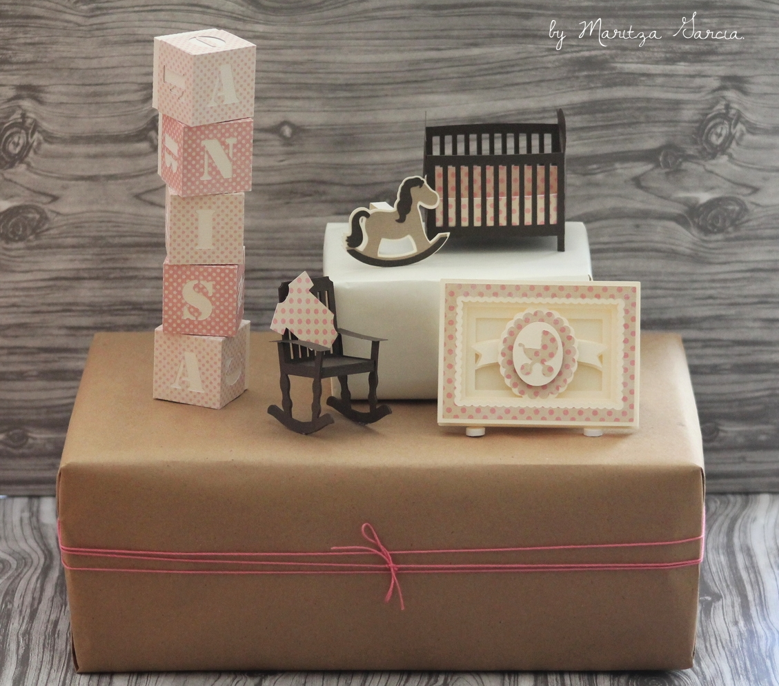 3D Baby Shower Gift Toppers/Gift Wrapping