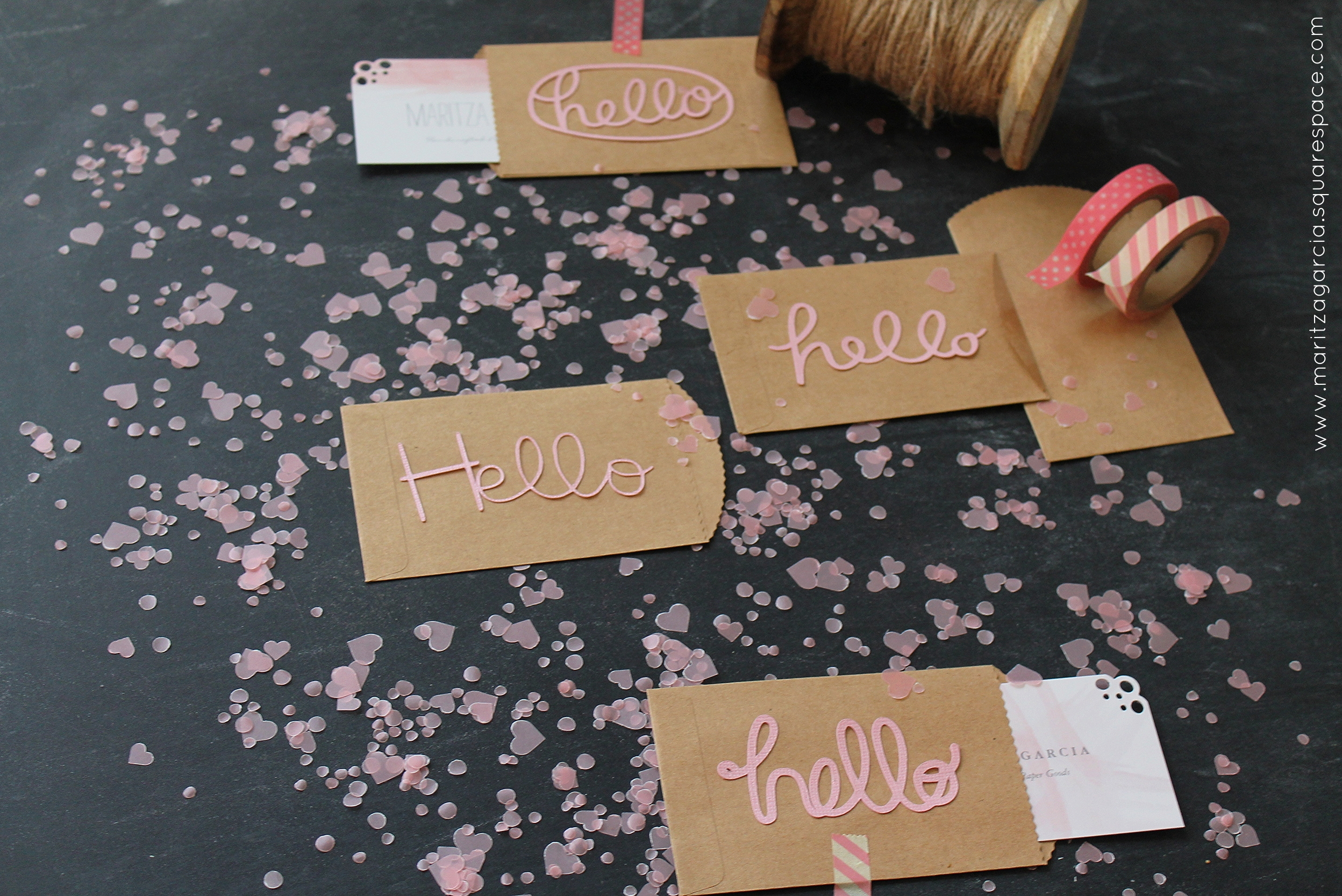 DIY - How to Revamp Your Business Cards | Maritza Garcia
