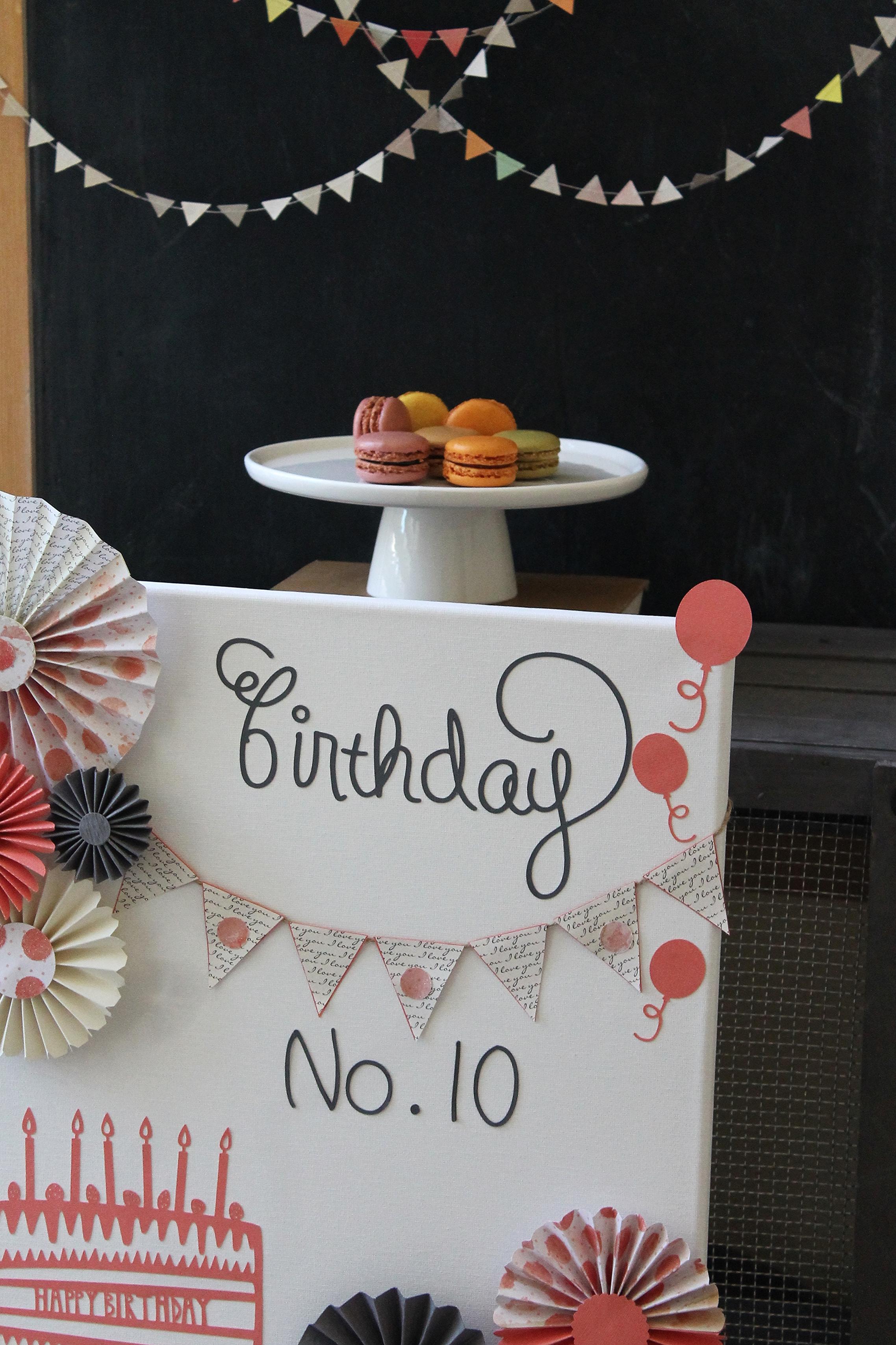 Canvas Birthday Board | by Maritza Garcia