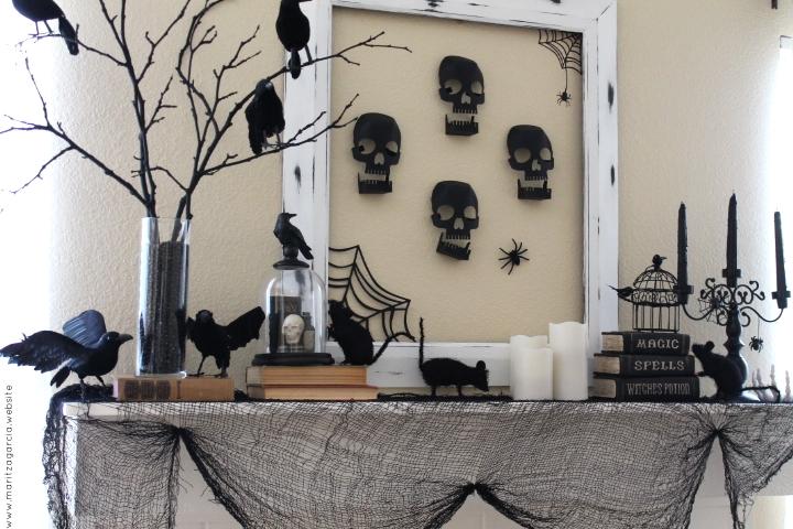 Eerie Fireplace Mantel | Maritza Garcia