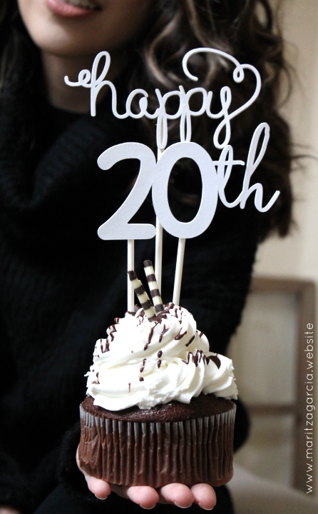 Cupcake Birthday Topper | Maritza Garcia