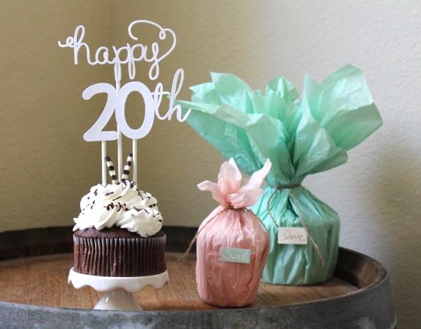 Cupcake (Birthday) Topper | Maritza Garcia