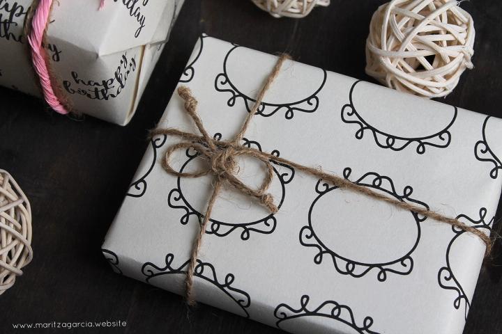 DIY Gift Wrap Sheets | www.maritzagarcia.website