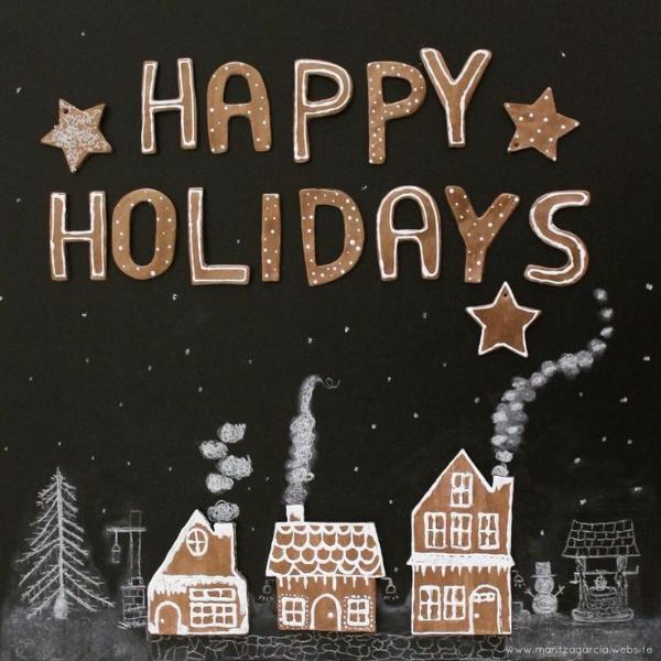 Happy Holidays on Gingerbread Lane | Maritza garcia