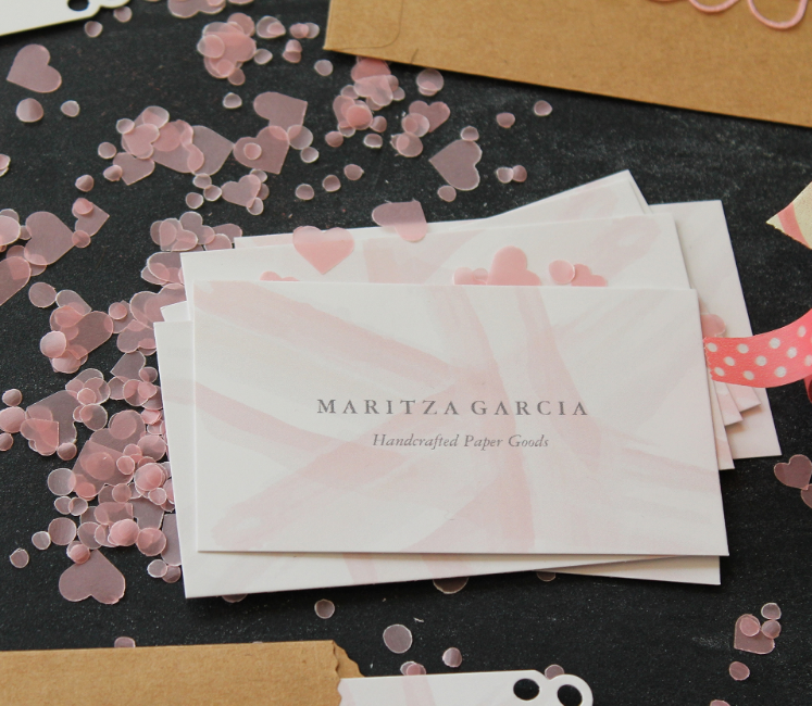 DIY How to Revamp Your Business Cards | Maritza Garcia