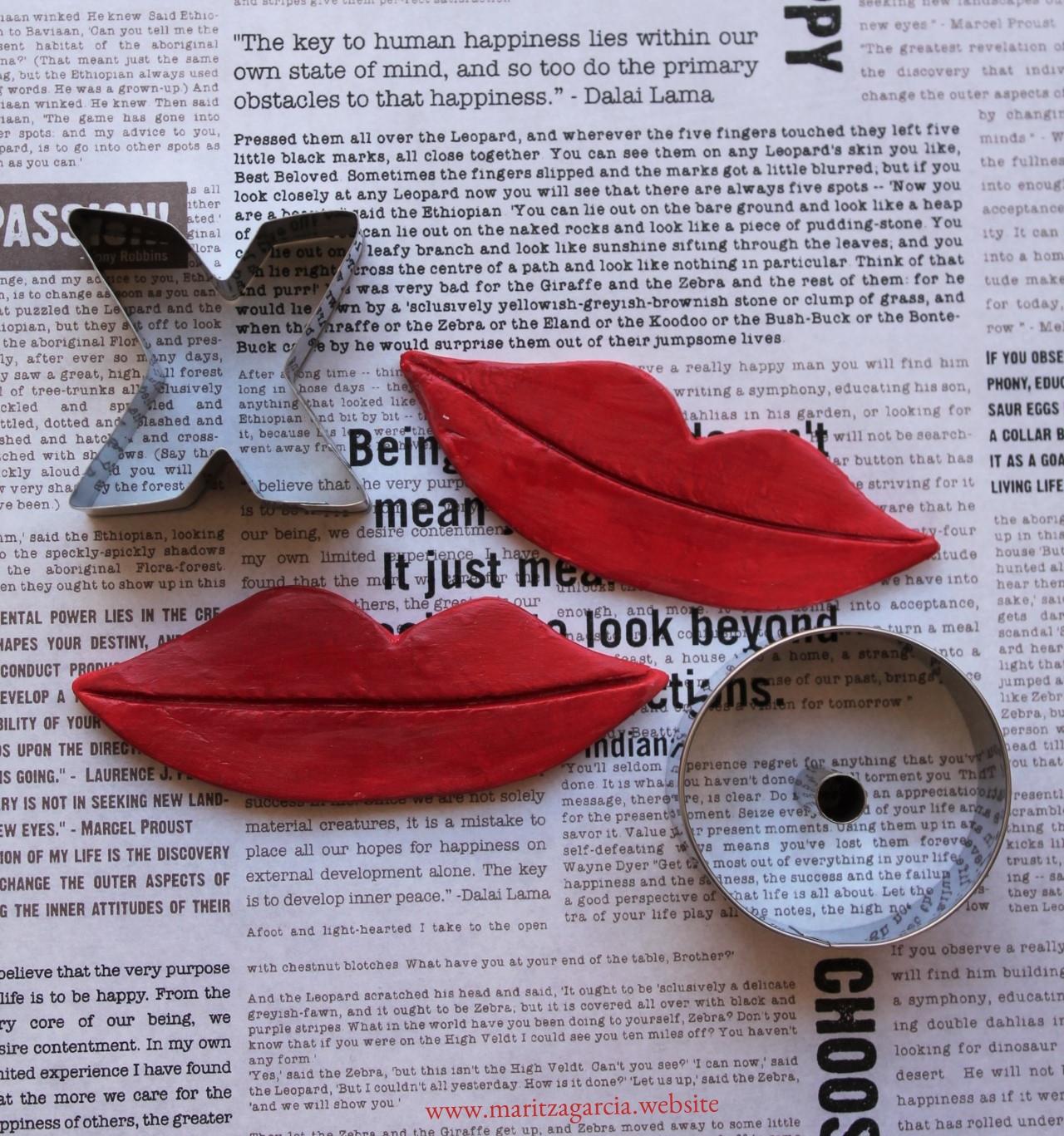 Clay Kisses via www.maritzagarcia.website
