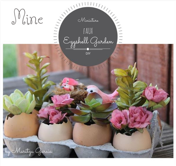 DIY Eggshell Garden | www.maritzagarcia.website