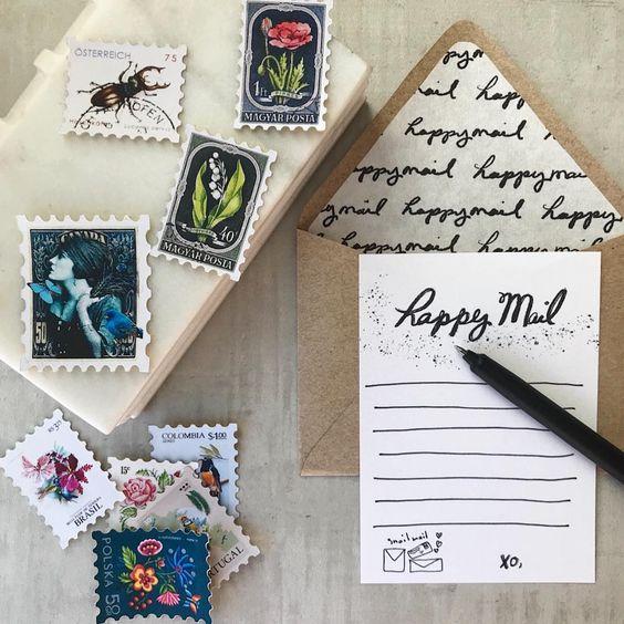 Happy Mail by Maritza Garcia | www.maritzagarcia.website