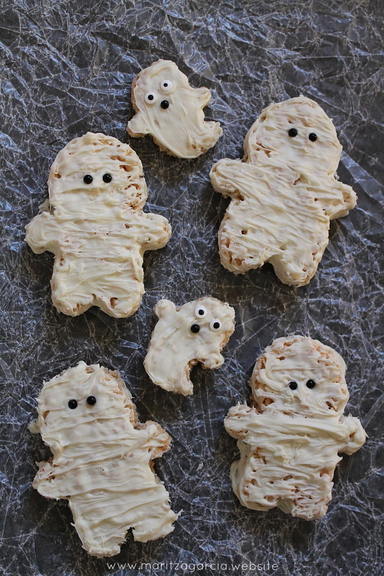 Halloween Rice Krispie Treats | www.maritzagarcia.website