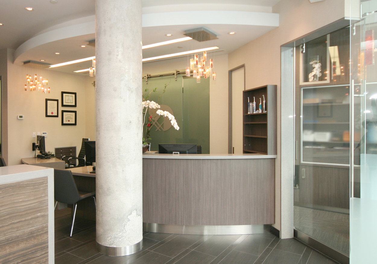 Warm greetings from our dental team as soon as you walk in the door!