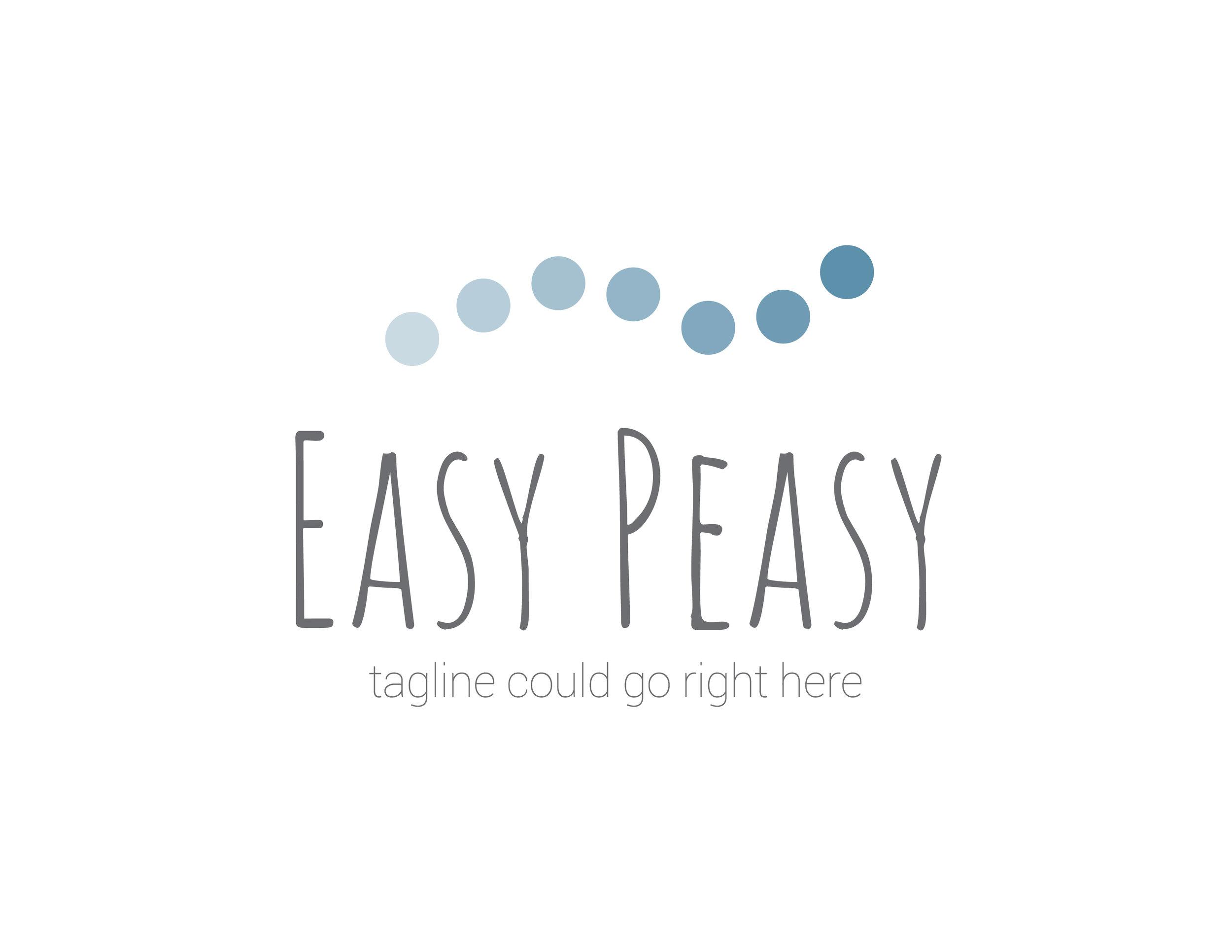 Easy Peasy  Logo Design