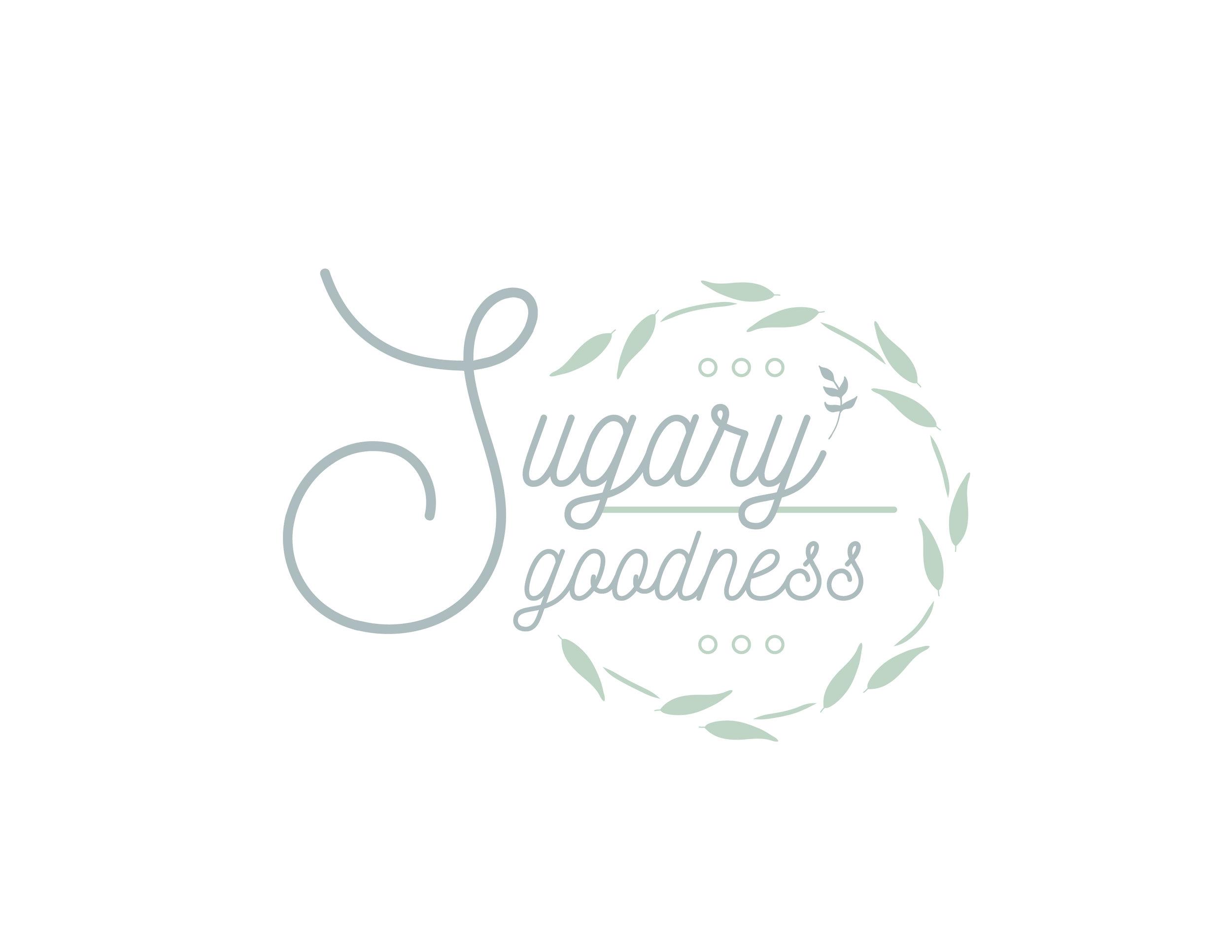 Sugary Goodness  Logo Design