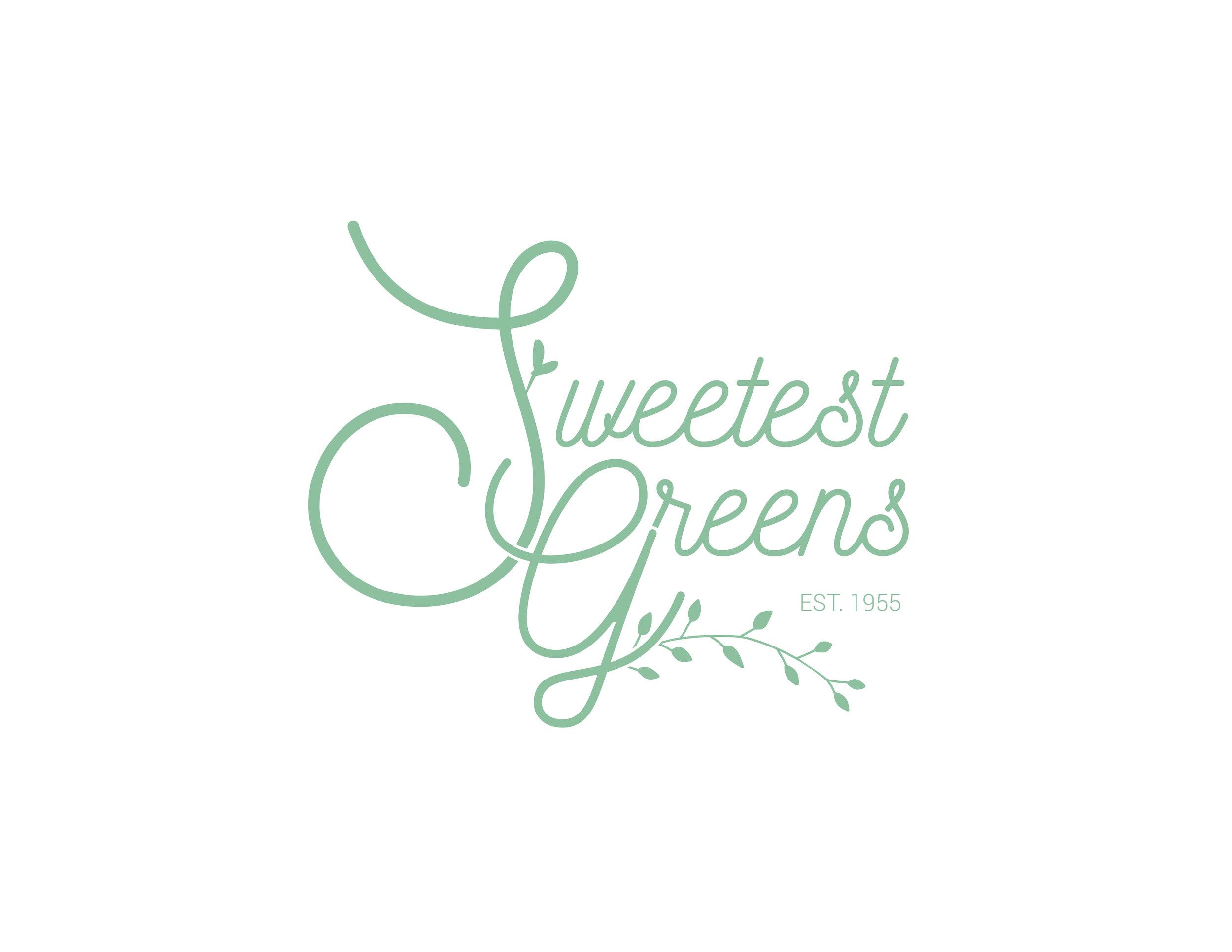 Sweetest Greens  Logo Design