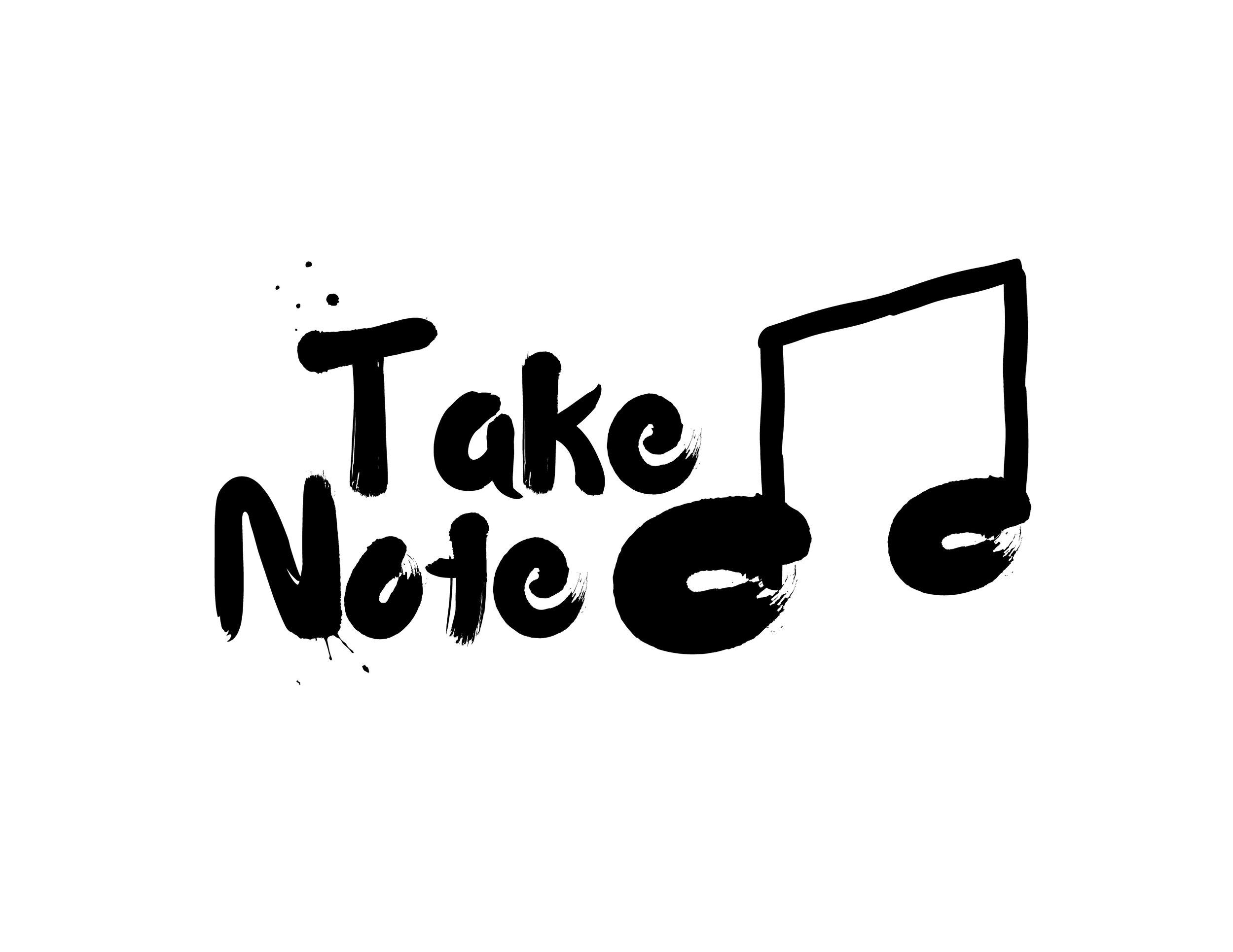 Take Note  Logo Design