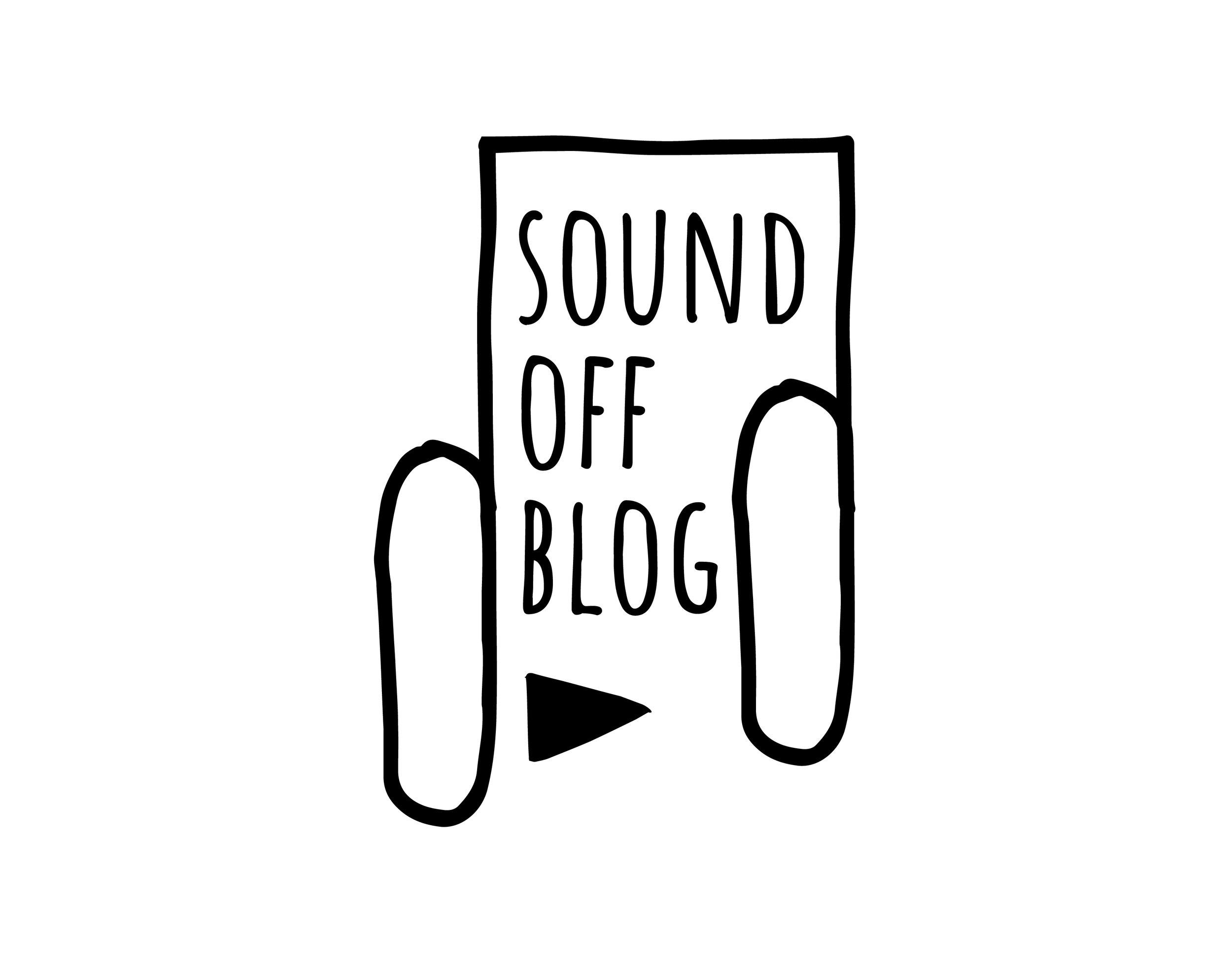Sound Off Blog  Logo Design