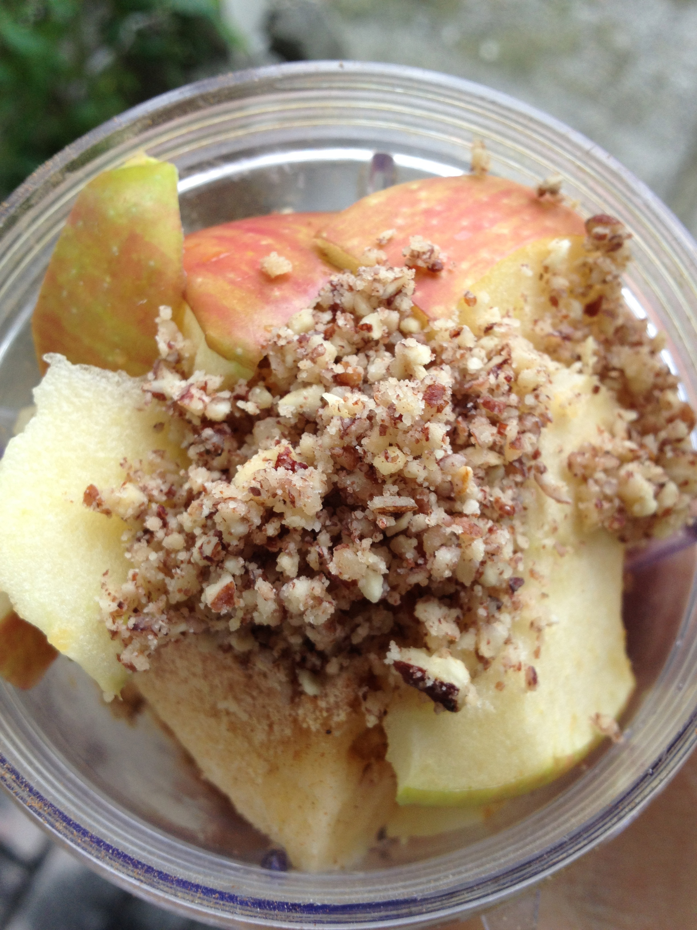 Apple and pecans