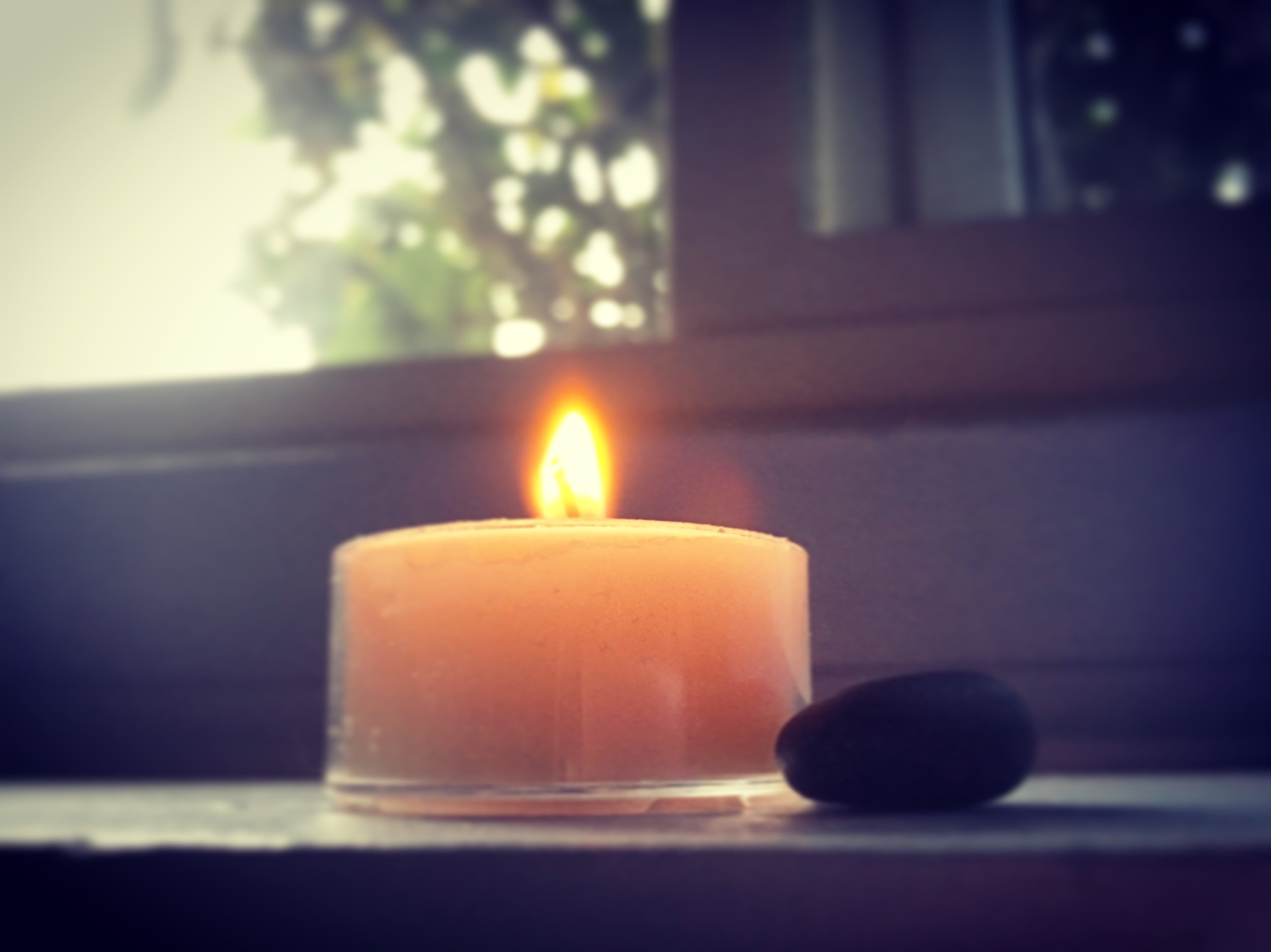 You may wish to gaze at the candle flame as you listen to the recording.