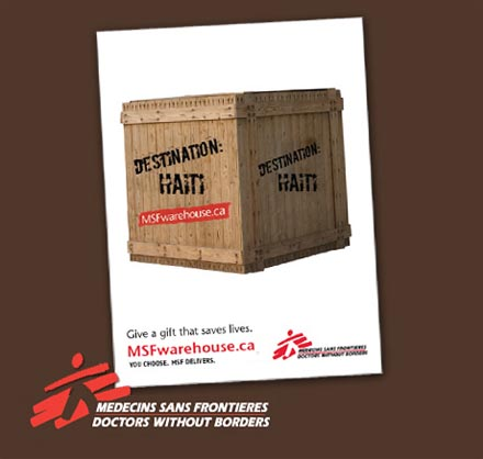 Médecins Sans Frontières / Doctors Without Borders – MSF Warehouse