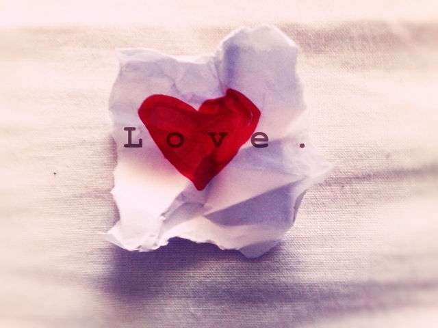 Send a love note to yourself...and don't crumple it up!