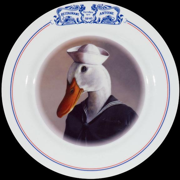 Sailor on Antoine's plate