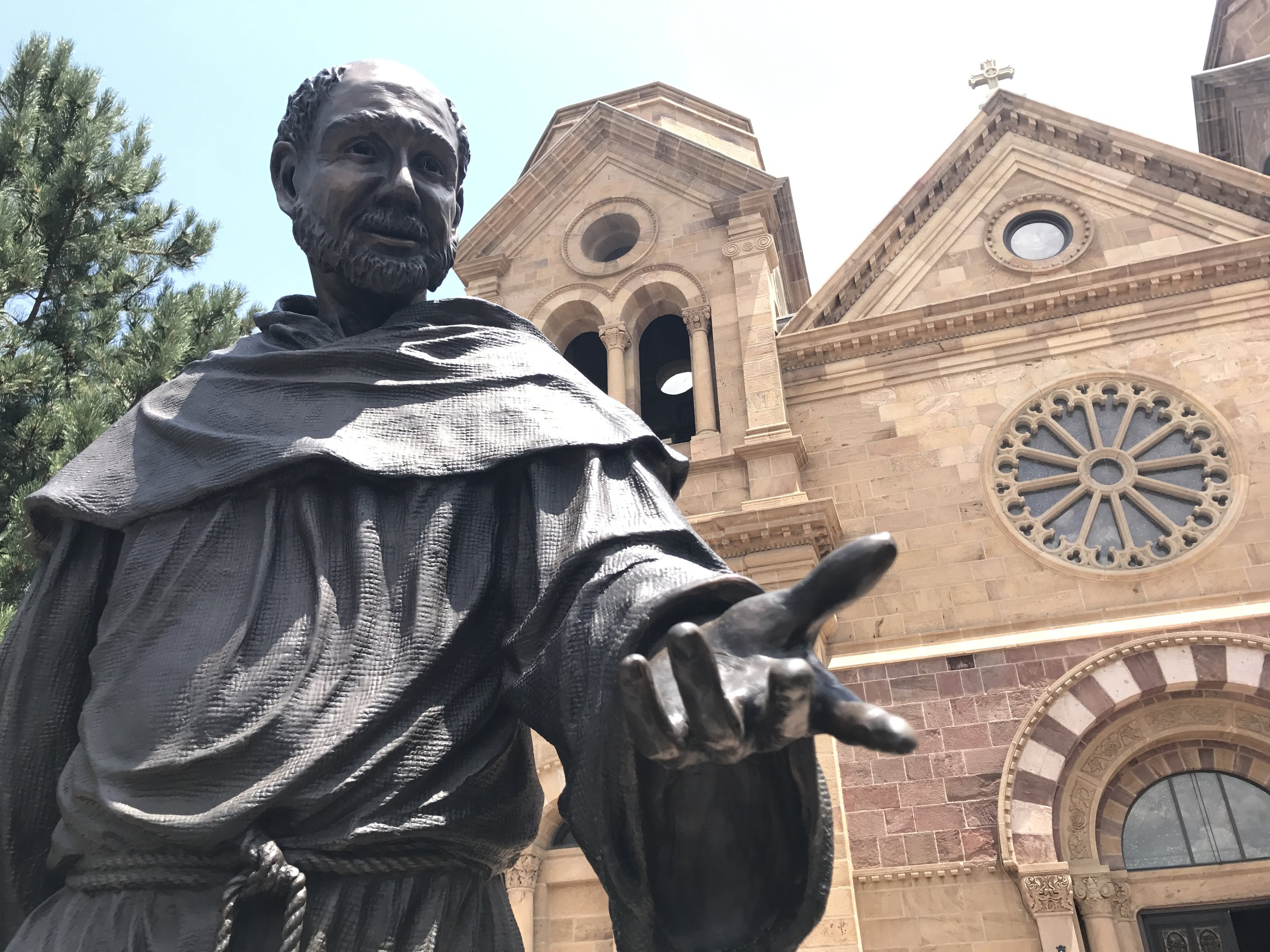 St. Francis of Assisi at the plaza
