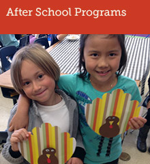 Garfield Elementary's after school program runs from 1:50 – 5:45 p.m every school day throughout the year. It provides homework assistance, recreation and other areas of enrichment.