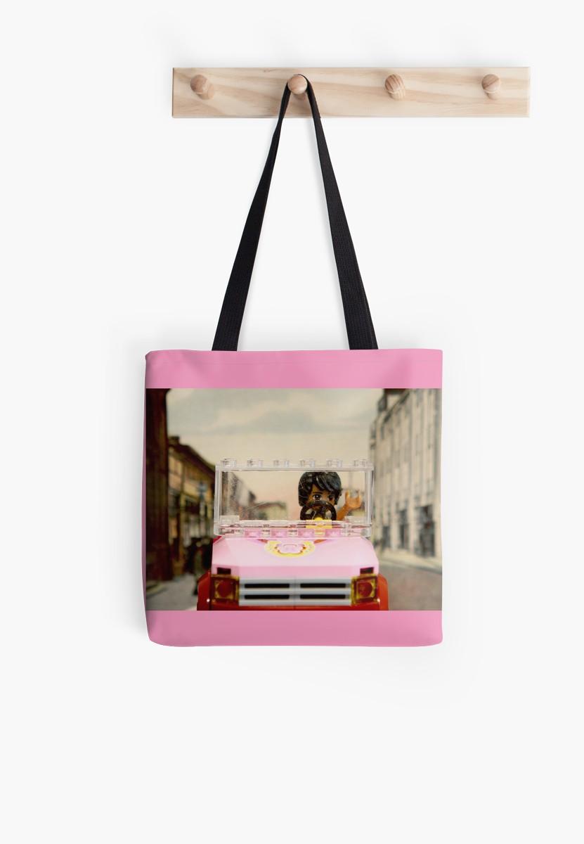 Legoman bags and drawstring  bag