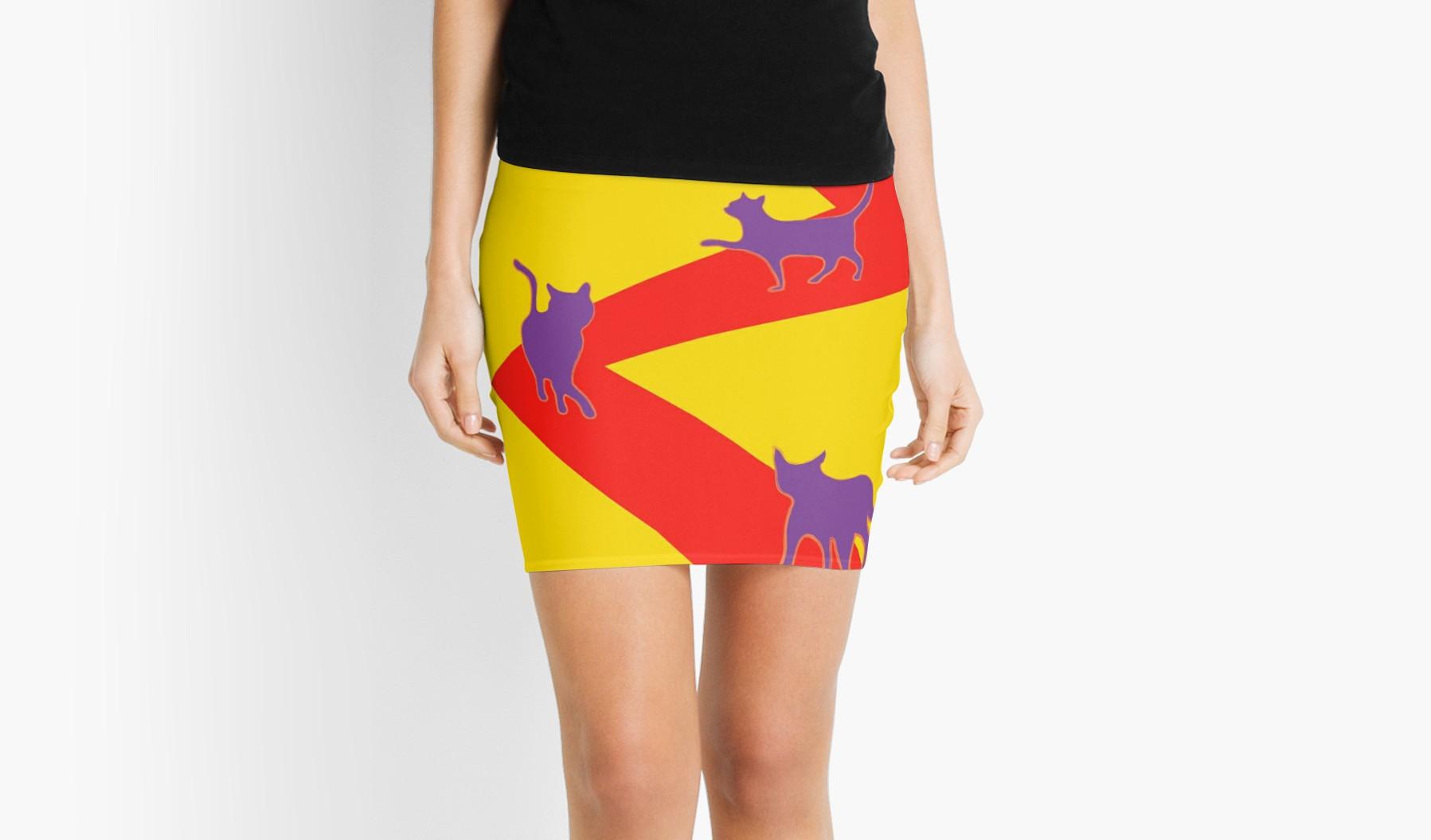 catwalk on skirt