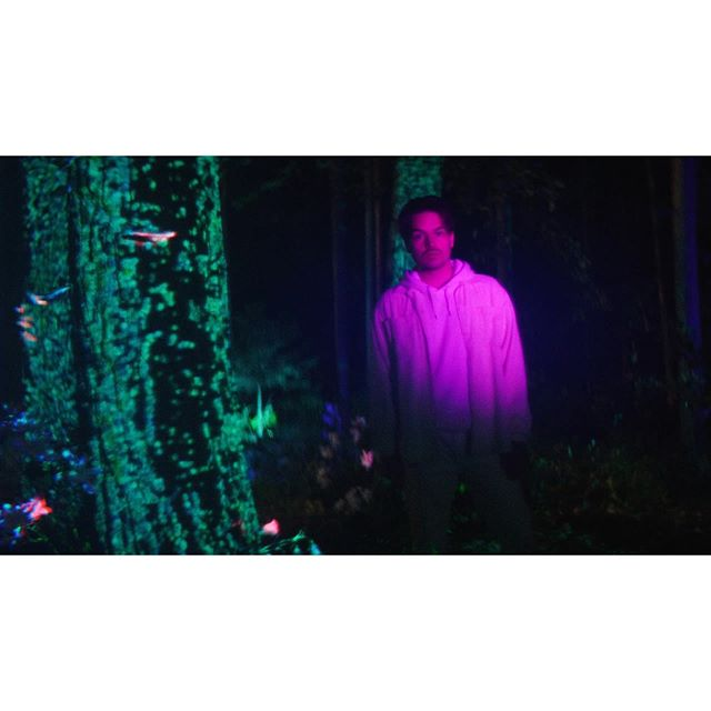 """Today is the big day! This is our new music video for @milkychance_official new single """"Fado"""" 🔥  We teamed up with super talented projector artists from Berlin and we were able to film all effects in-camera, so none of these effects were made in postproduction!  It was surreal to stand in the middle of the forest and to see how it evolved into an enchanted forest. We even had a light attached to a drone. That was something I've been wanting to do for a long time and the effect was even crazier than I expected it. 🛸  A big thank you goes out to the whole crew and friends that helped to make this happen!  We've been working intensively on this for the last couple of weeks and Fado is one of my favorite tracks of the new album and I'm really proud to be able to collaborate on the visual part of it.  So watch it over and over again and let me know what you think! 📺  dir: Anthony Molina dop: @chrisschwarz  prod: @toriwhit  @florianbrandl_ @litestoneproduction  PA: @laurasjournal_  1st AC: @belekwu  2nd AC: @rubenstarman  Gaffer: Yassin Khateeb  LD: @patricklightdude , Thomas Kosslick FE: @david.moore.lorusso  Art Deparment: Melina Schuler H&M: @katharina_handel  Projection:  RESORB.TV  Drone: @movik.de  Grading: @joellerbrock @pop.psd ad: @co_magick // #milkychance #fado #fifa20"""
