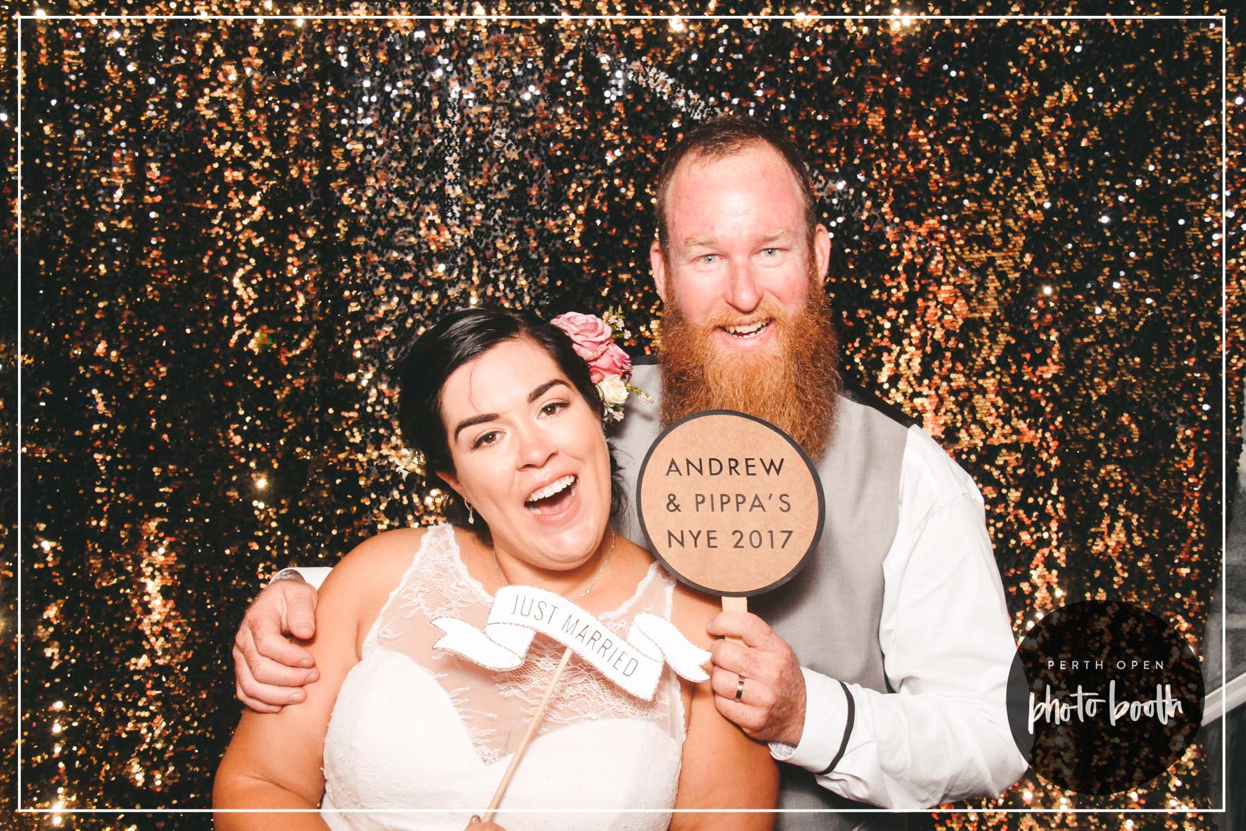 Andrew + Pippa's NYE Wedding - PASSWORD: PROVIDED ON THE TICKETS- ALL LOWERCASE -