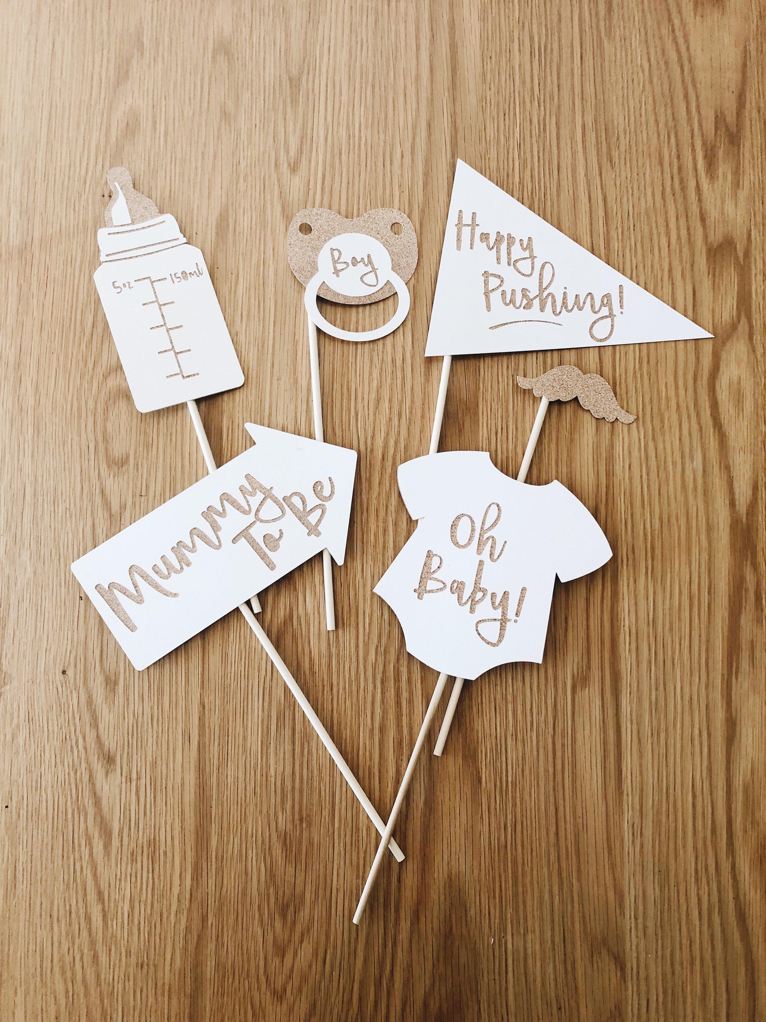 Card prop on sticks