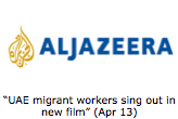 """UAE migrant workers sing out in new film"" (Apr 13)"