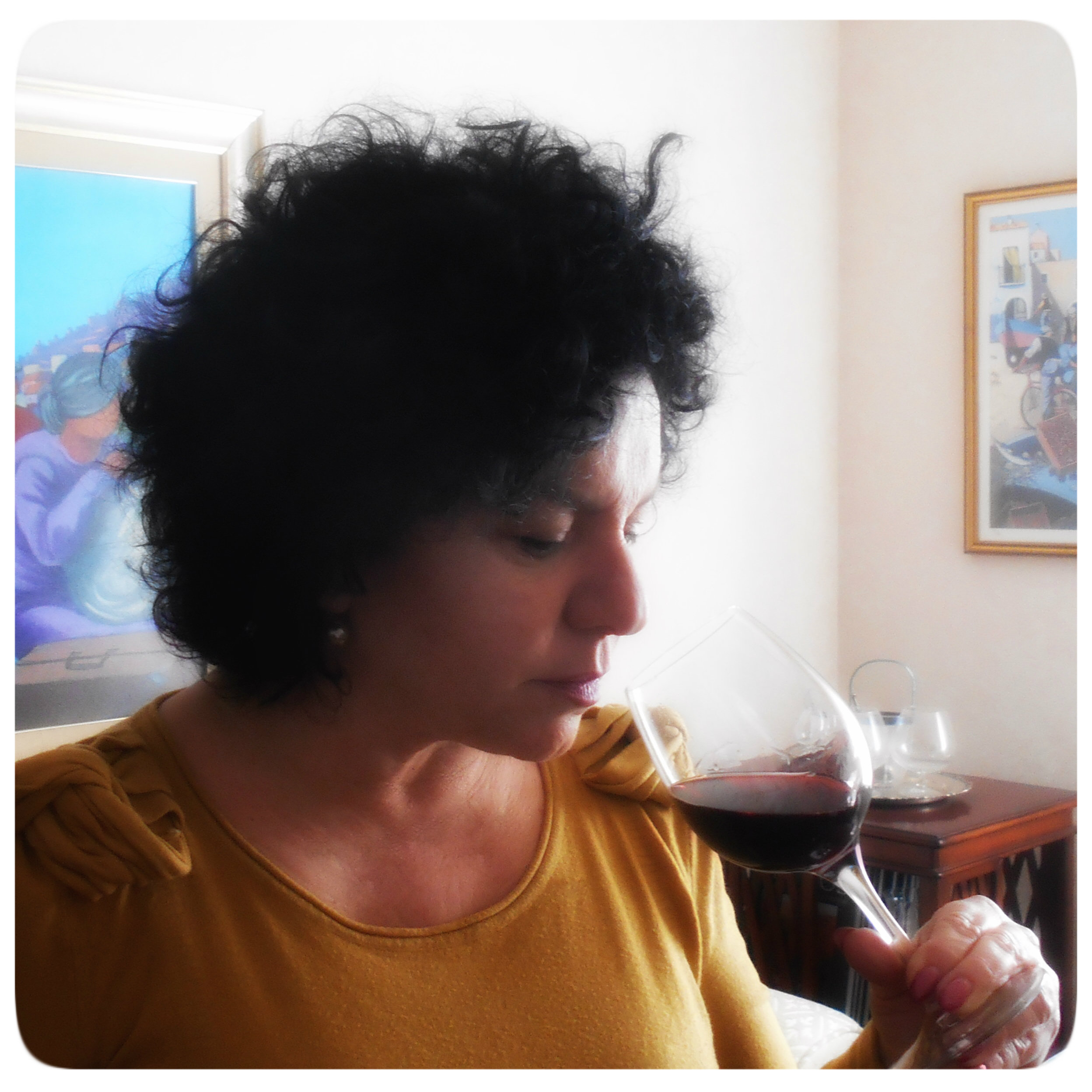 Wine tasting/ Degustazione del vino,  here .
