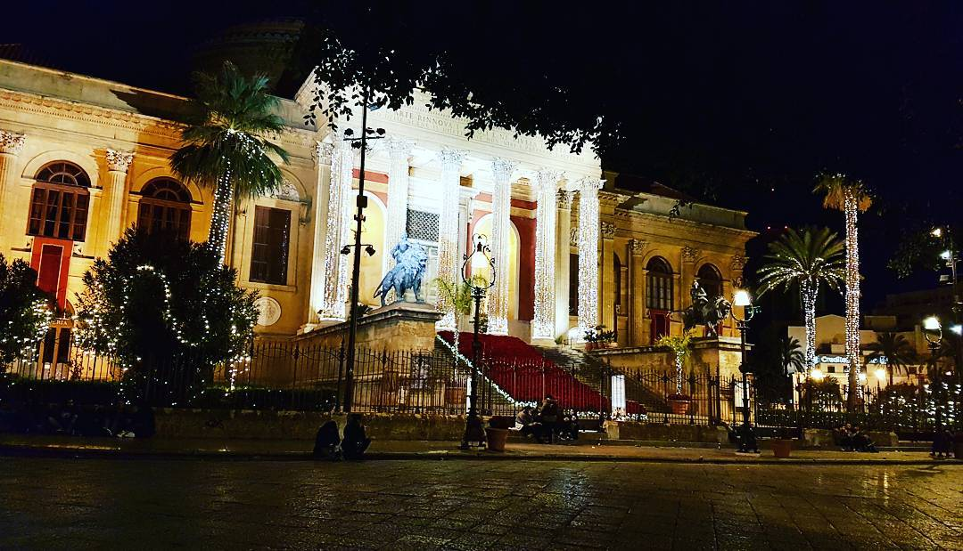 Best Wishes from Christmas in Palermo. - <3