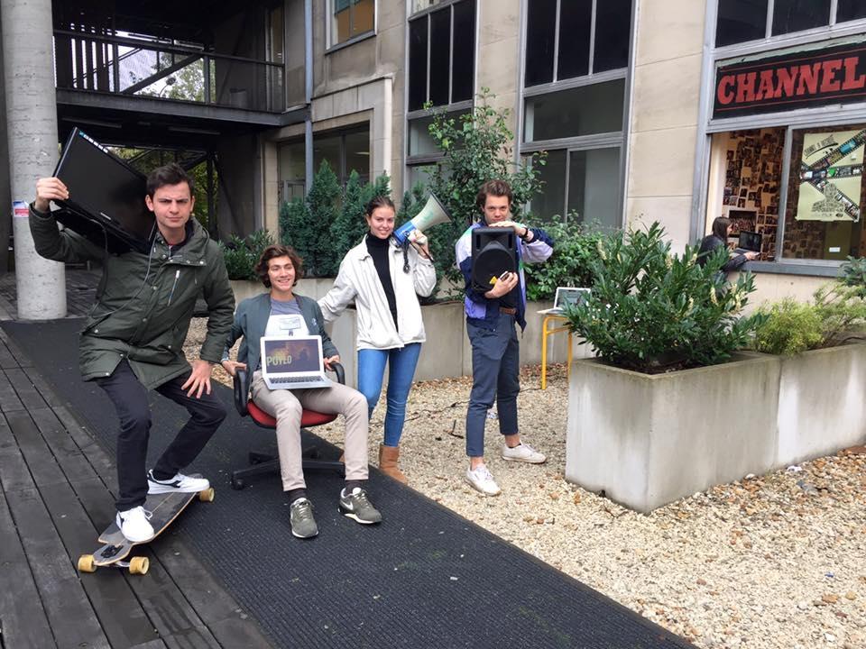 JT ambulant - Channel 9 - Paris Dauphine