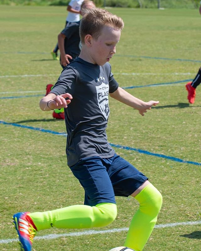 P is playing soccer again. We had a great day! @ctxflash All the boys were great!