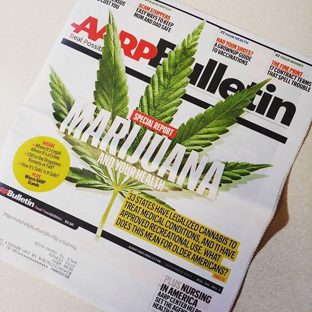 Got my new AARP magazine this morning. #wraystagram