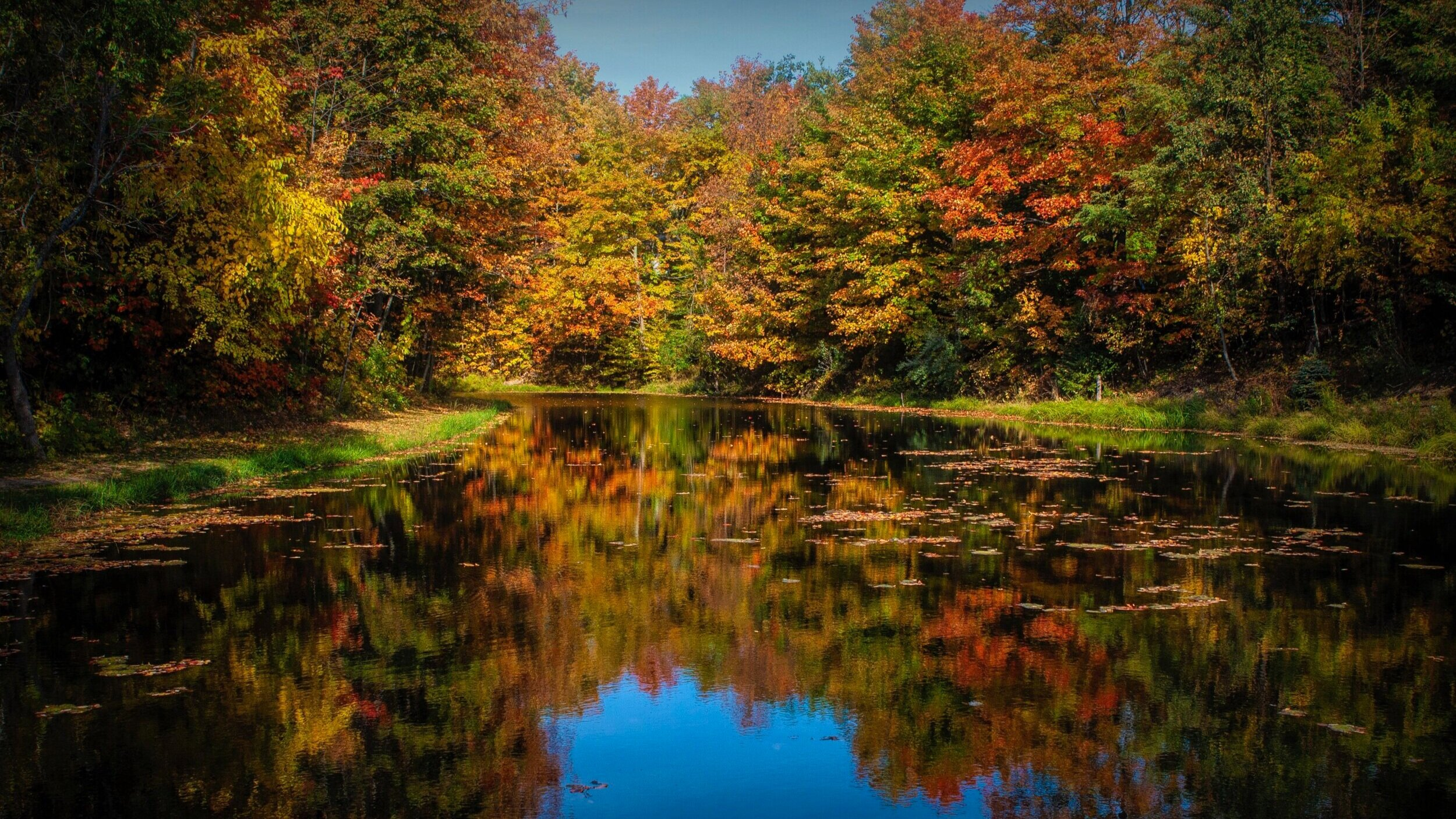 Photo of the Northport Millpond by bob Bayer.