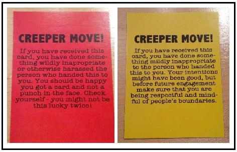 Creeper Cards