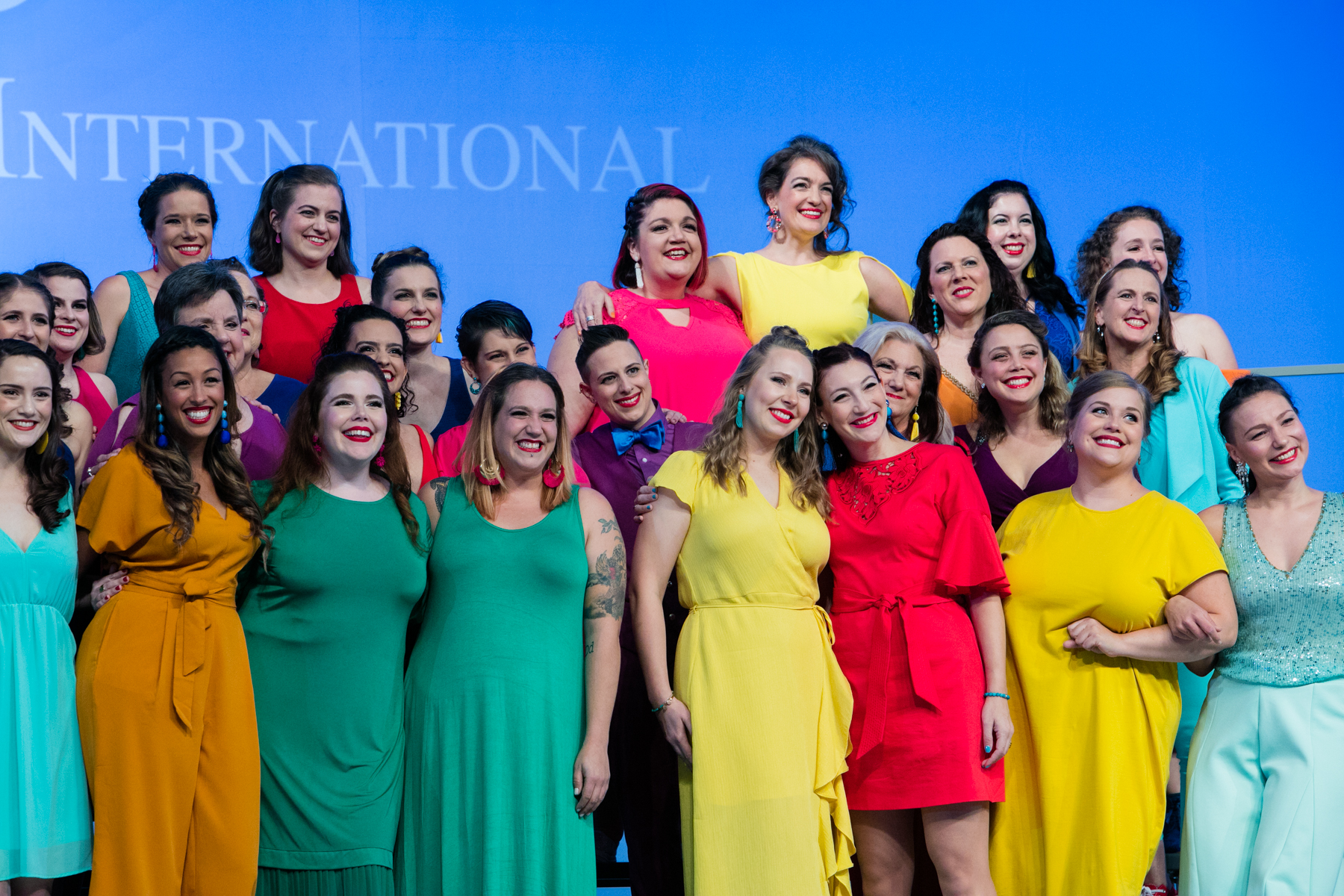 Sweet Adelines International 2019 Harmony Classic performance in St. Louis  Photo by Read Photography