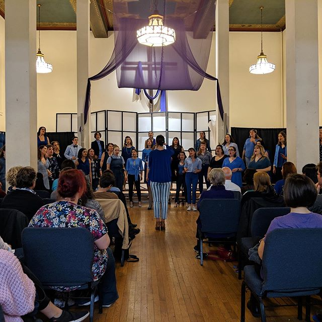 Here's to two successful Guest Weeks! To celebrate here's a little #throwbback to our first performance with our most recent class of sirens. We can't wait for all the newcomers to join us on stage too! 💈  #nycacappella #acappella #barbershopharmony #chorus #audition #concert
