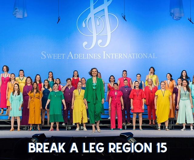 Good morning! Sirens of Gotham is so excited to be cheering on all of our friends arriving in New Orleans for Sweet Adeline's International Harmony Classic. We'd also like to send a little extra love to the choruses and quartets competing from our own Region 15 - Spirit of Syracuse, Greater Nassau Chorus, Harmony, and VOCE!  Sirens had such a special time last year in Saint Louis and, though we won't be competing this year, we cannot wait to watch everyone light up the stage again this week! Anyone who can't make it to the competition but wants to see some incredibly talented people excel at their craft be sure to tune in! There will be a live broadcast starting tomorrow (Tuesday, September 17th) where you can catch all your favorites, and maybe even find a new chorus or quartet to fall in love with. We'll be watching, will you?  http://www.sweetadswebcast.com