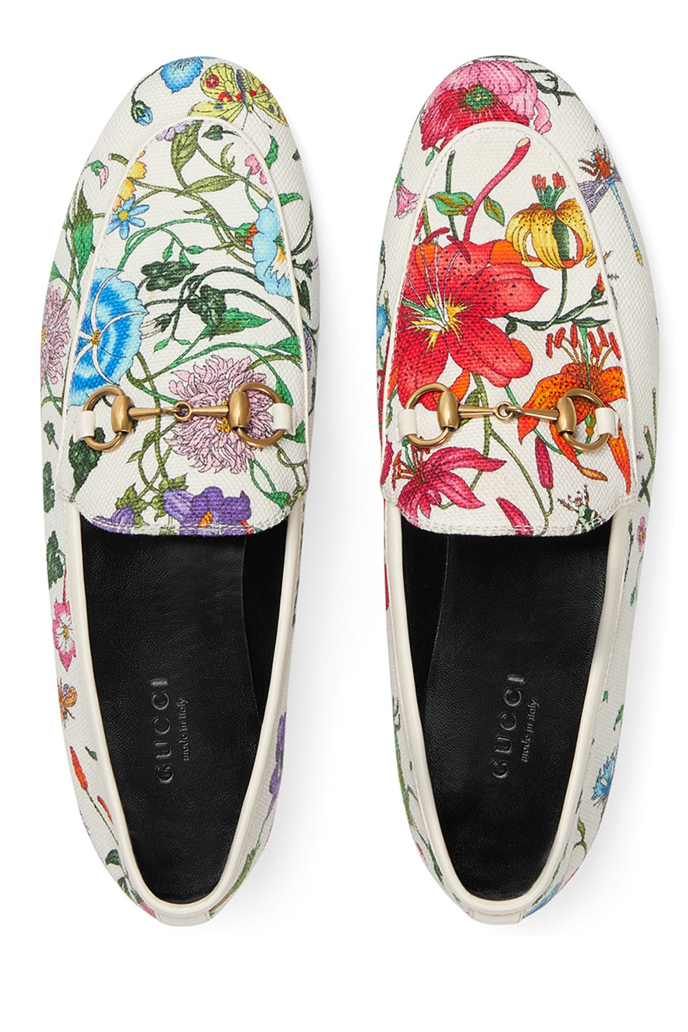 Gucci flat canvas loafers,  $695