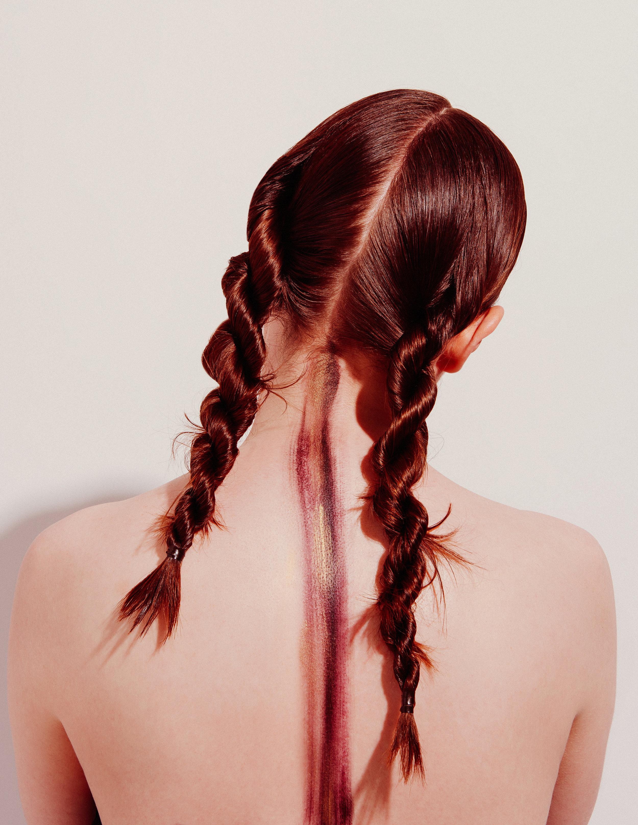 Braid Story feat. Charli Howard at Muse NYC |  Concept by Ashley Rubell. Photographed by Tiffany Nicholson.