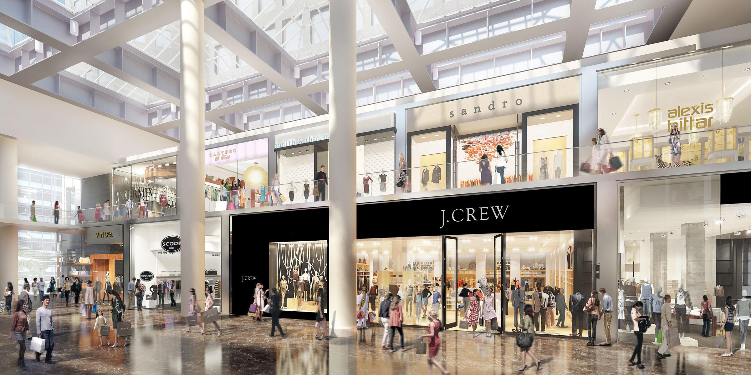 Brookfield Place Retail Conversion Concept