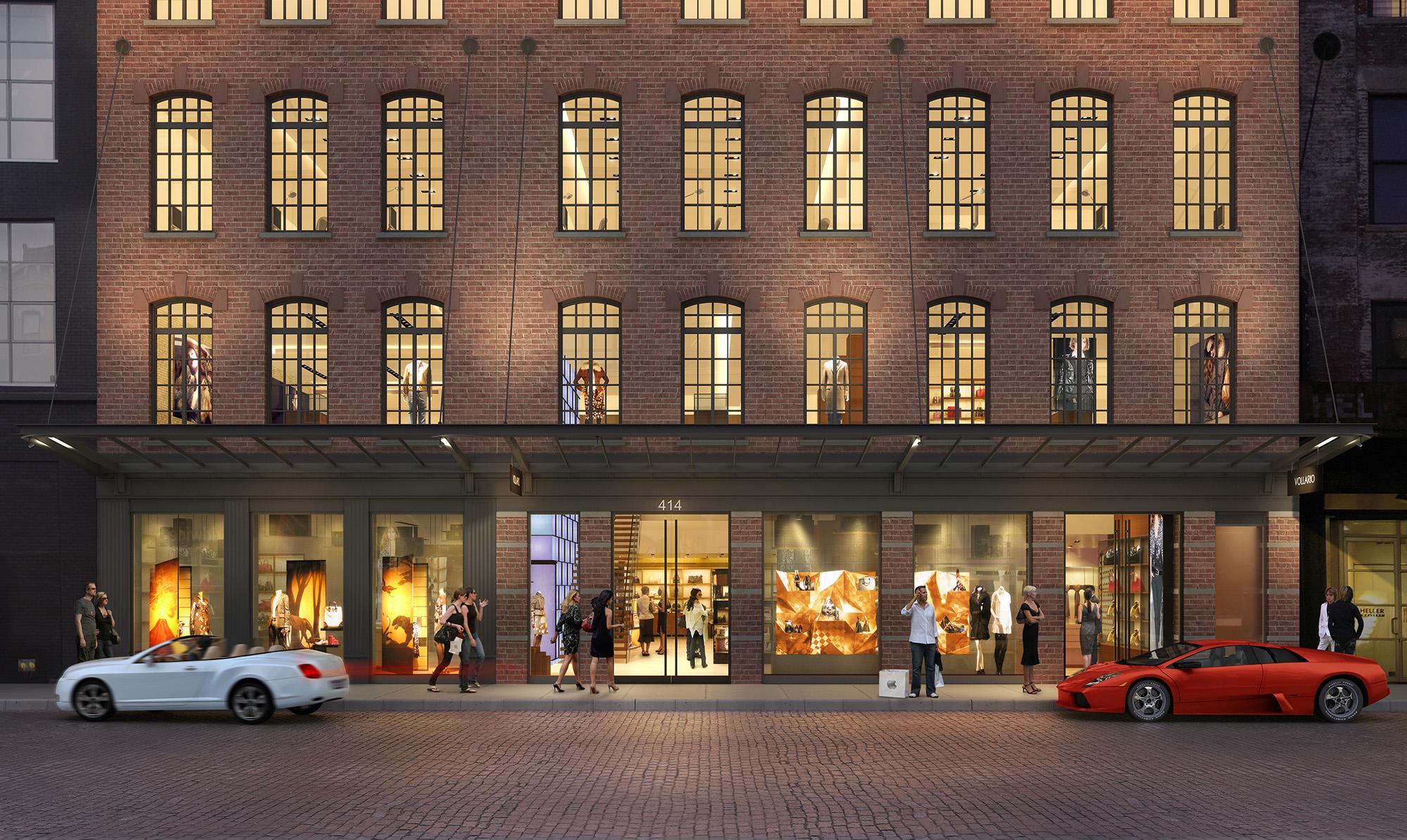 414 W. 14th Street Ground Floor Retail Exterior