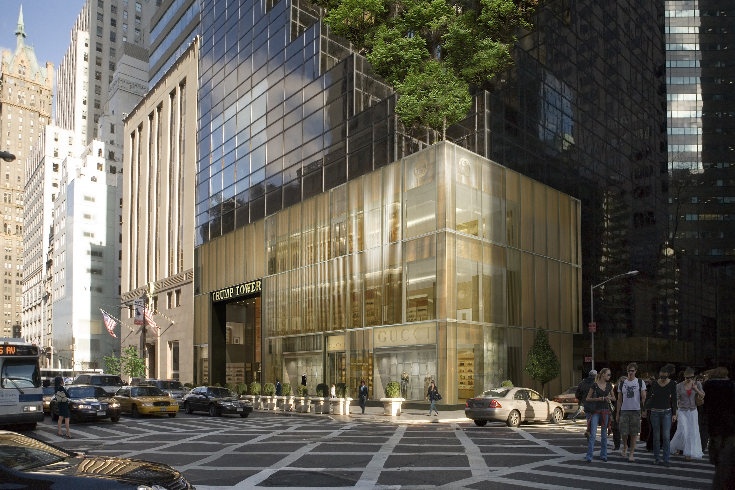Gucci NYC Flagship at 55th Street & Fifth Avenue